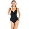 speedo Brigitte 1 Piece Swimsuit Women Black